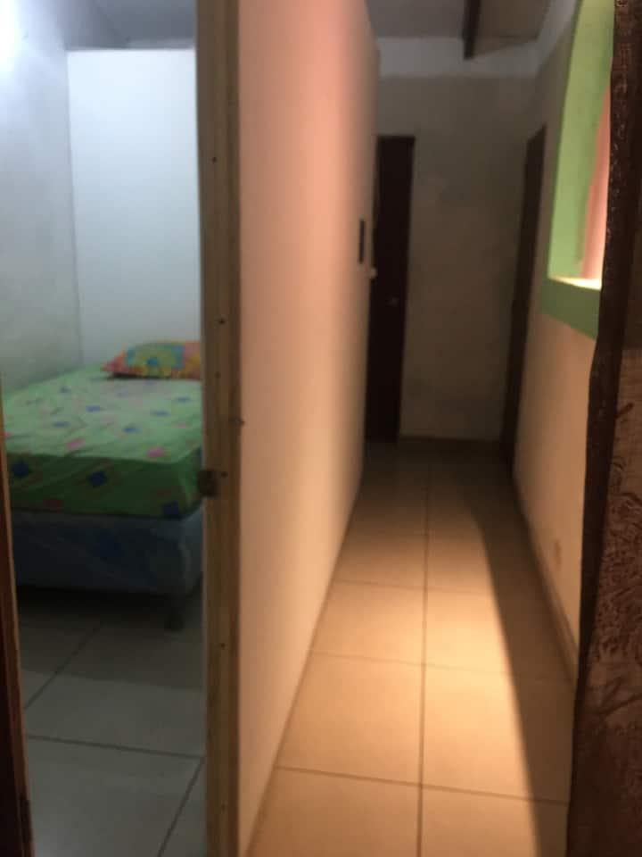 Agradable espacio para descanso y privacidad