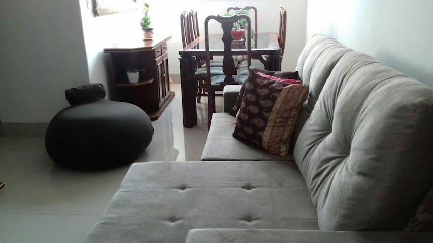 Apt seguro, confortável, st Bueno - Goiânia - อพาร์ทเมนท์