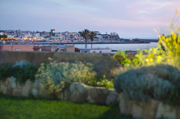 Sunset sea-view apartment with garden(Scannella)
