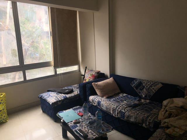Sunny room in Agouza near British Council.