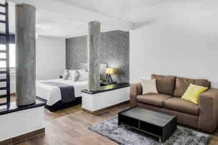 """Acogedora Habitación, Hotel de diseño """"Boutique"""""""