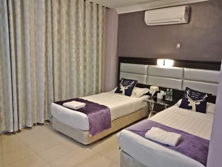 Twin Room @ Johor Bahru by T Hotel
