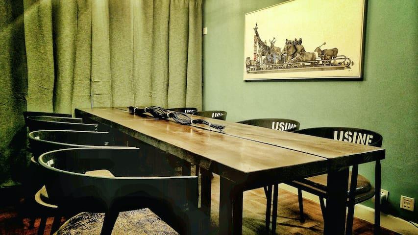 简屋女生房三人间床位1(市中心5条地铁直达,免费赠送早餐)(Women's room,No. 1)