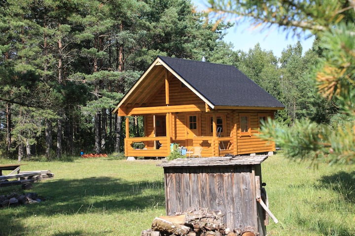 Cozy and private getaway in nature of Saaremaa