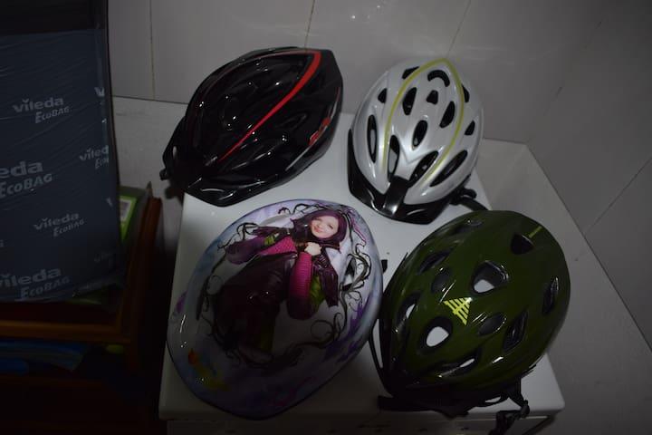 Capacete para bicicletas/Bicycle helmets