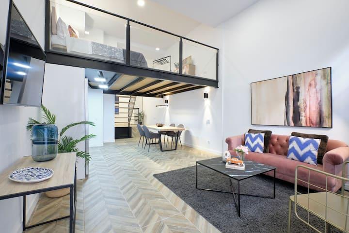 MA: Industrial Fancy Apartment