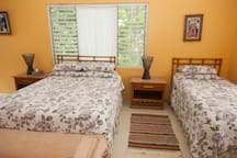Native Son Villa Room #4.....this room has two queen beds and room to spare