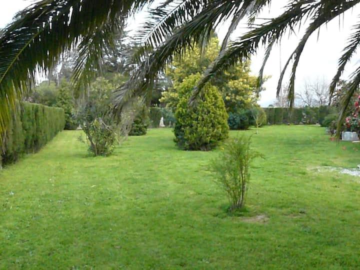 Location  dans un Mas avec Piscine          (n°2p)
