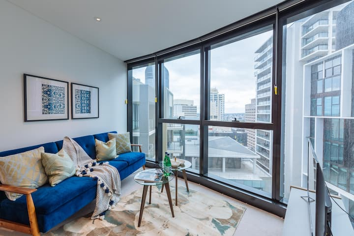 Fabulous 2 Bed Apt in Brisbane City, Pool and Gym