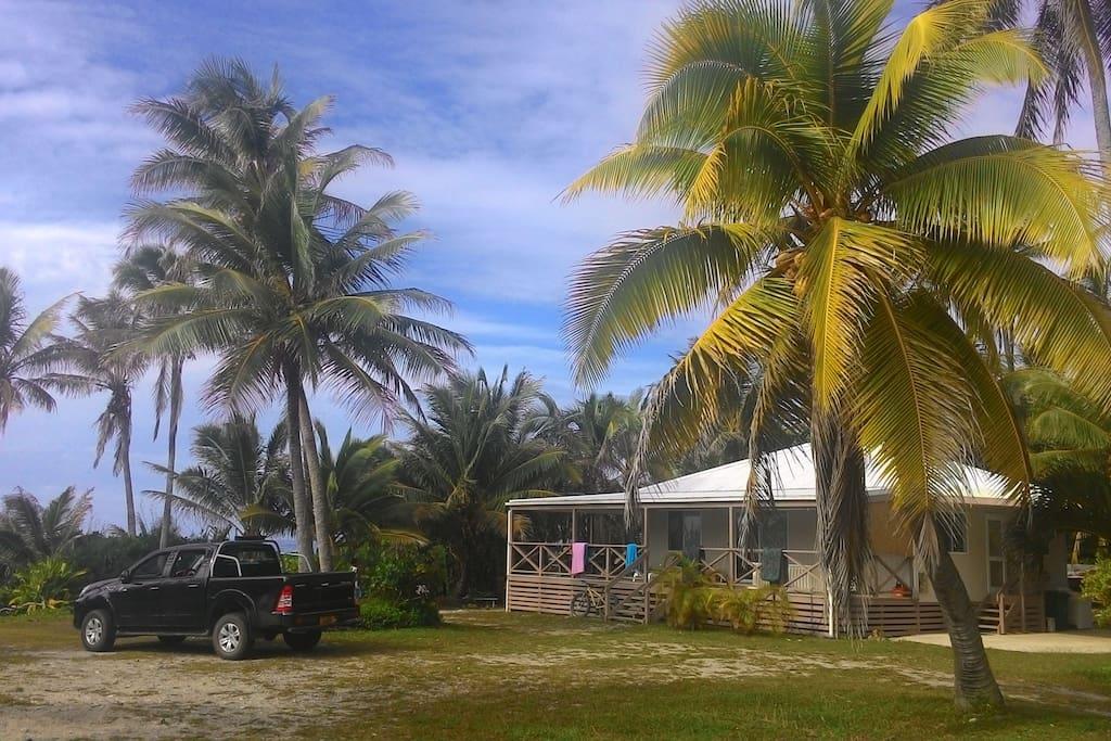The Tupapa House