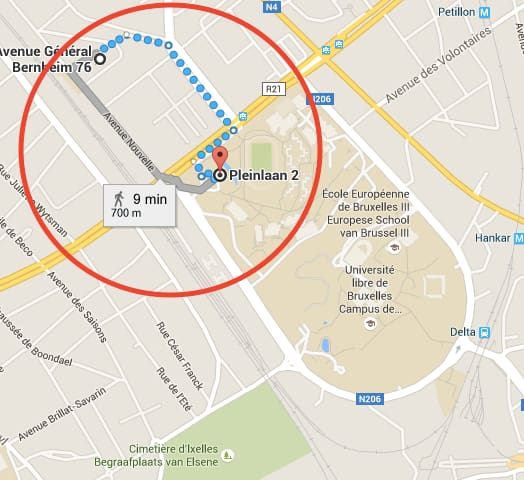 Quiet space in the city (10) - Etterbeek - Maison