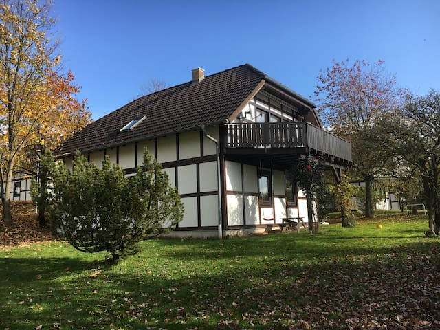 Family house in nature reserve Kellerwald, Edersee