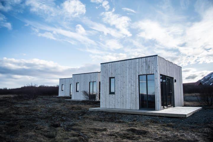 Hafnarfjall,  Cabin with a sea view (i)