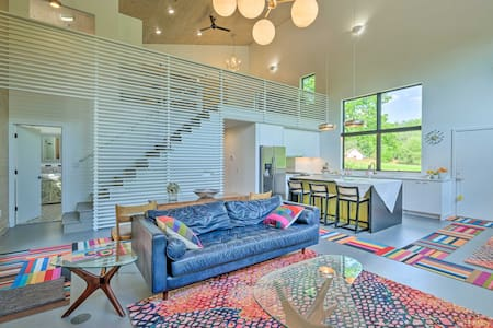NEW! Luxe + Modern Home: 30Mi to Saratoga Springs!