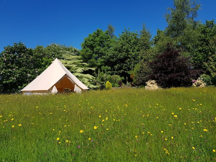 Anella Boutique Camping Bell Tent Hire- N Cornwall