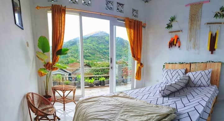 Twin Volcanoes || Room With Private Balcony