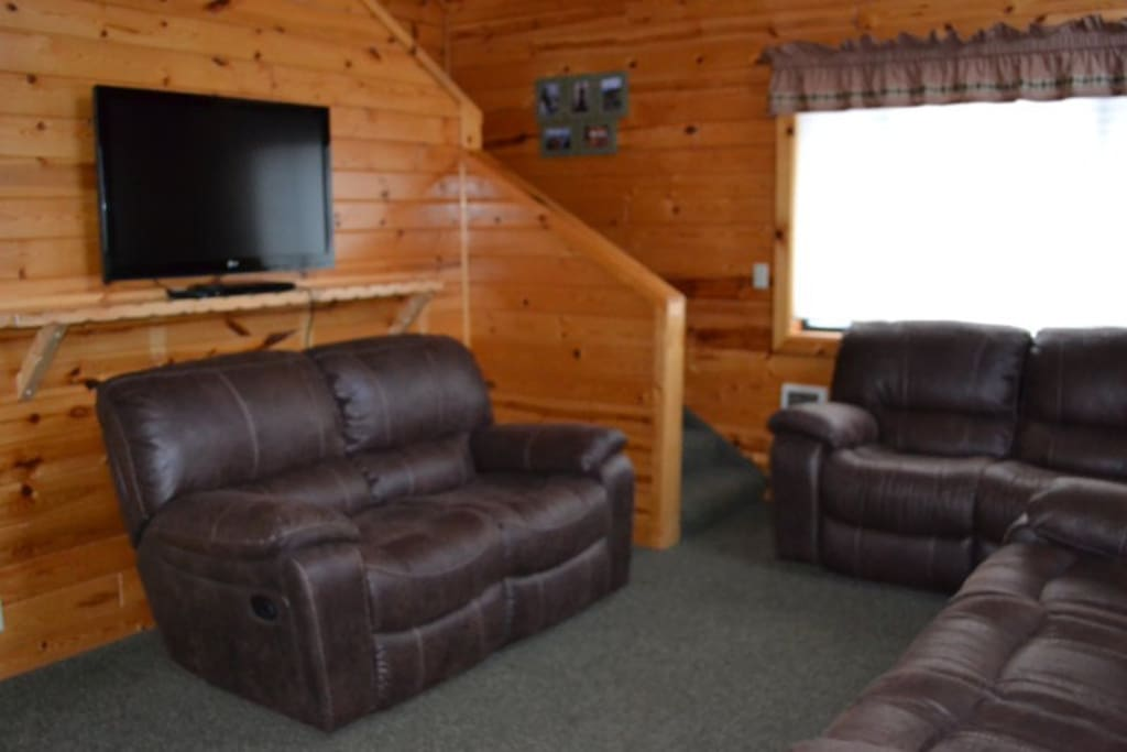 Plenty of space to lounge around with family