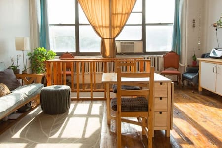 Gorgeous Bushwick Loft - L train 1 Block - Brooklyn - Loft