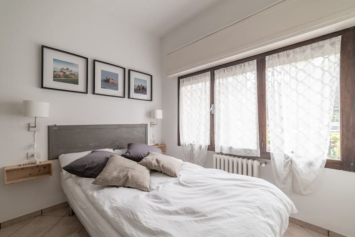 Cittadella two-rooms flat- free private parking