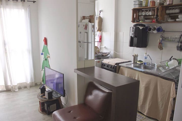 Apartamento completo, próximo ao Maracanã.