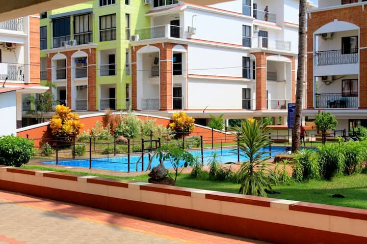 Candolim Paradise Luxury 1bhk North Goa