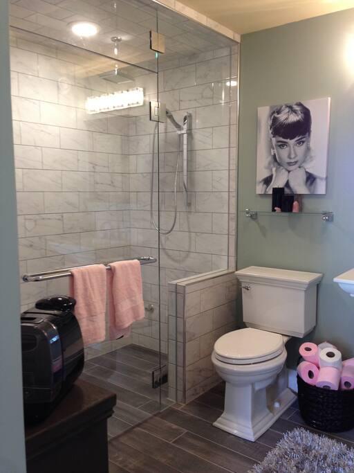 Steam Shower!