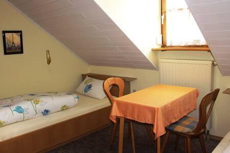 Gäste-Haus Rösch (Wiesent), Zweibettzimmer mit WLAN und Fernseher