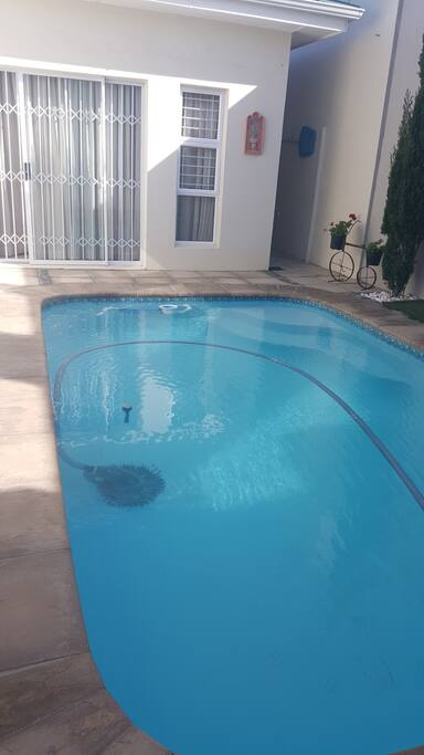 The swimming pool - perfect for hot summer months