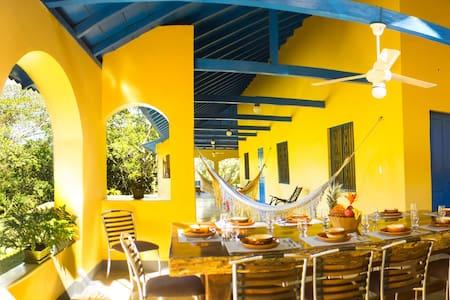 Casa Arimaca, en la Sierra Nevada de Santa Marta - Minca