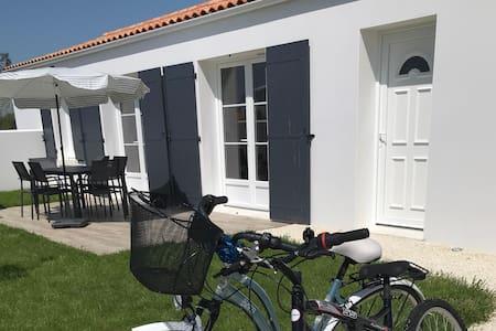 Modern and bright villa near the beaches