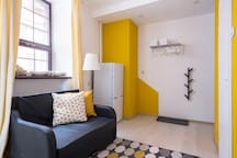 """Yellow"" studio apartments ""Red house"""