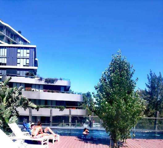 Yarra River Luxury 1BD  Apartment 亚拉河畔高级单房公寓