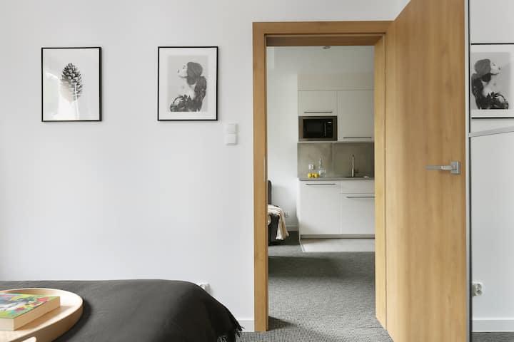 Kompaktowy apartament w Gdańsku