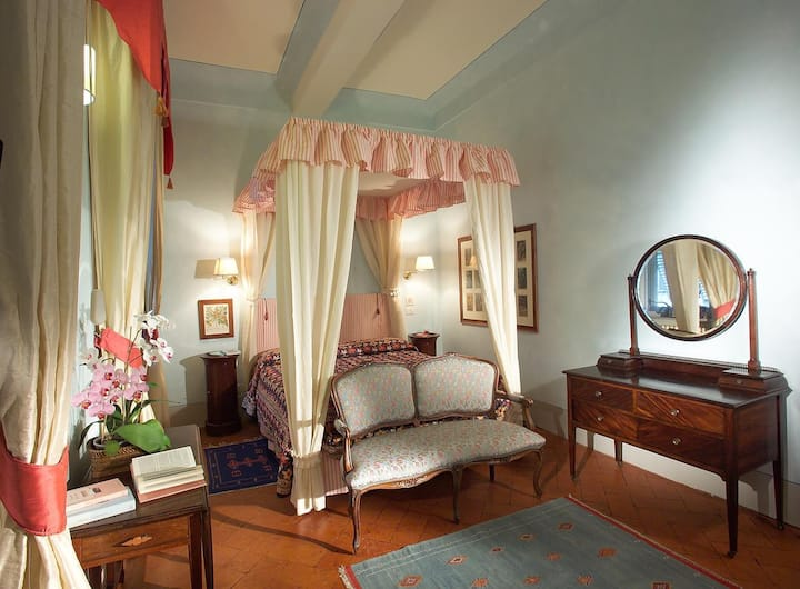 Charming room in Ancient Palace in Florence