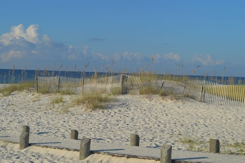 White Sands Await