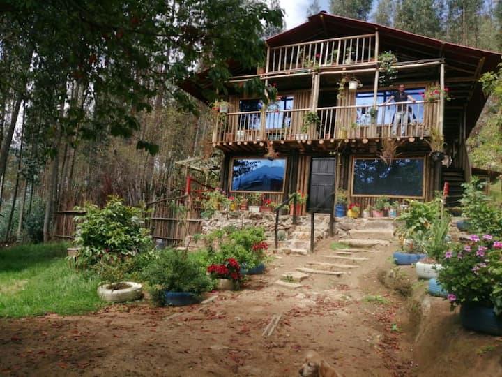 Cabaña de  descanso junto a la Naturaleza