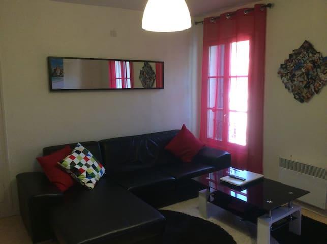 Chambre d hôte appt t3  très lumineux  et spacieux - Lakás - Lakás