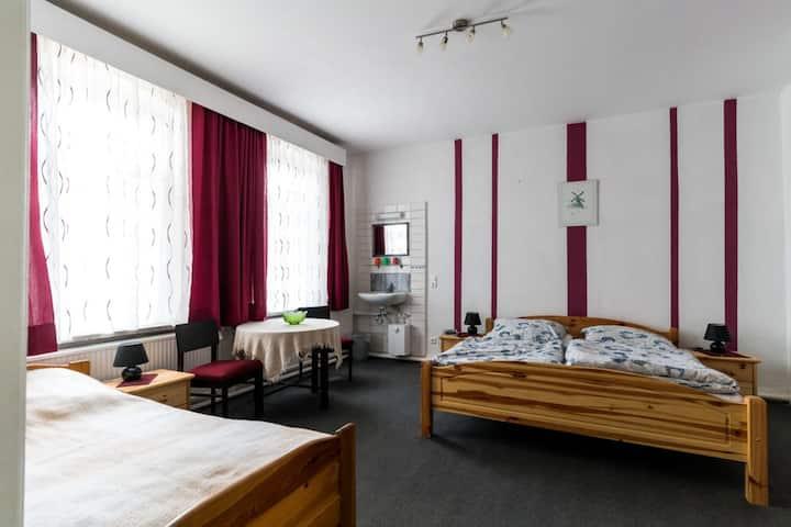 Pleasing Apartment in Klein Pravtshagen with Jetty, Garden, BBQ