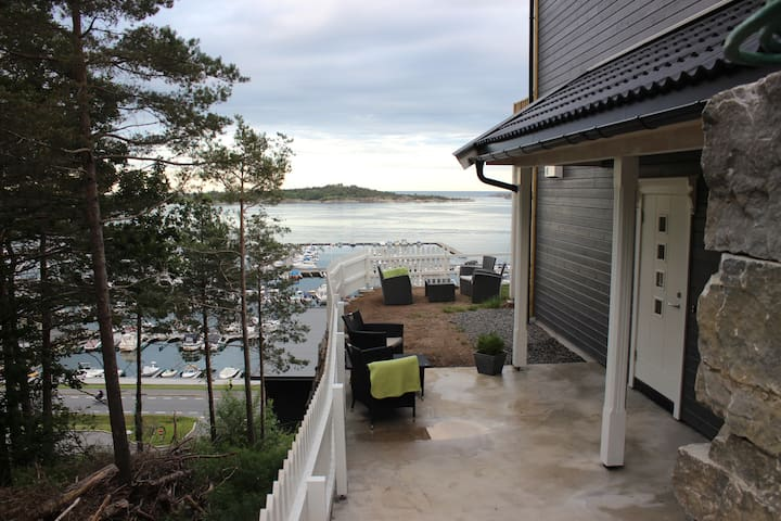 Sommerferie ved havet - Grimstad - Appartement