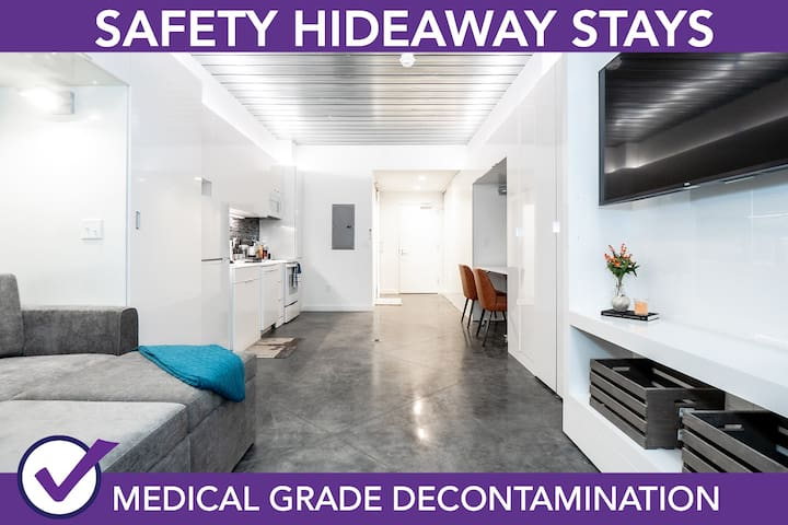 Safety Hideaway - Medical Grade Clean Home 120