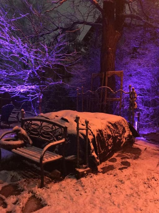 Alice In Wonderland Bed 4.20.2018
