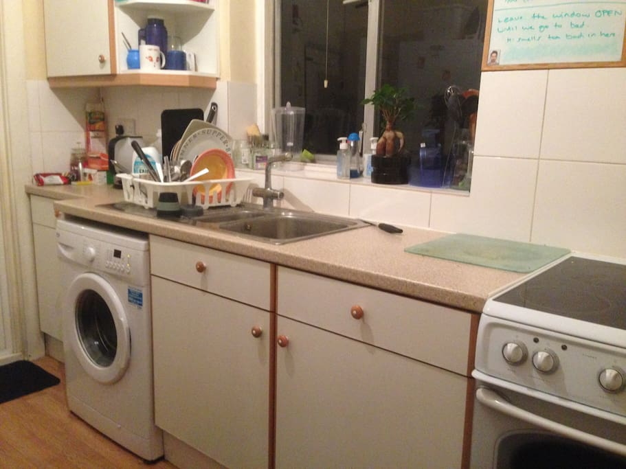 Shared Kitchen with all appliances.