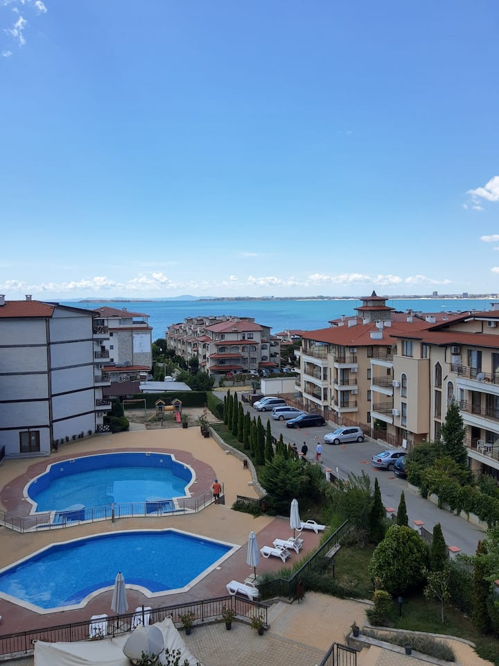 One-room apartment withSEA view/sv.VLAS Royal Palm