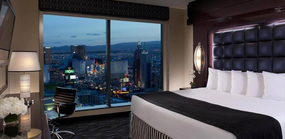 SEMA SHOW hotel room!