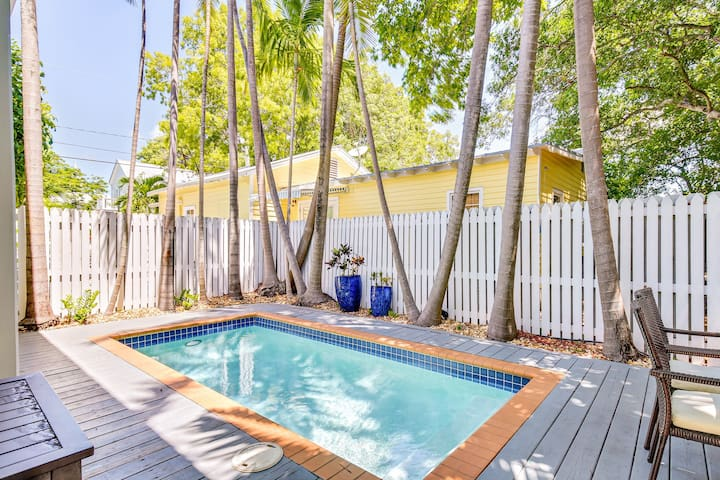Dog-friendly oasis in the heart of Key West w/ a private pool & fenced yard!