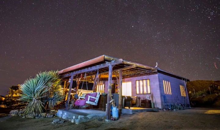 Secluded Joshua Tree Cabin on 22.5 Private Acres