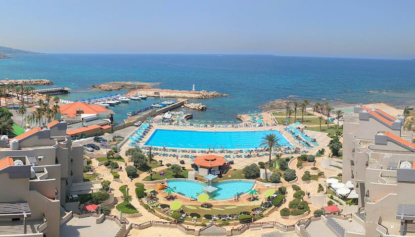 Chalet in Aqualand Batroun with Sea View