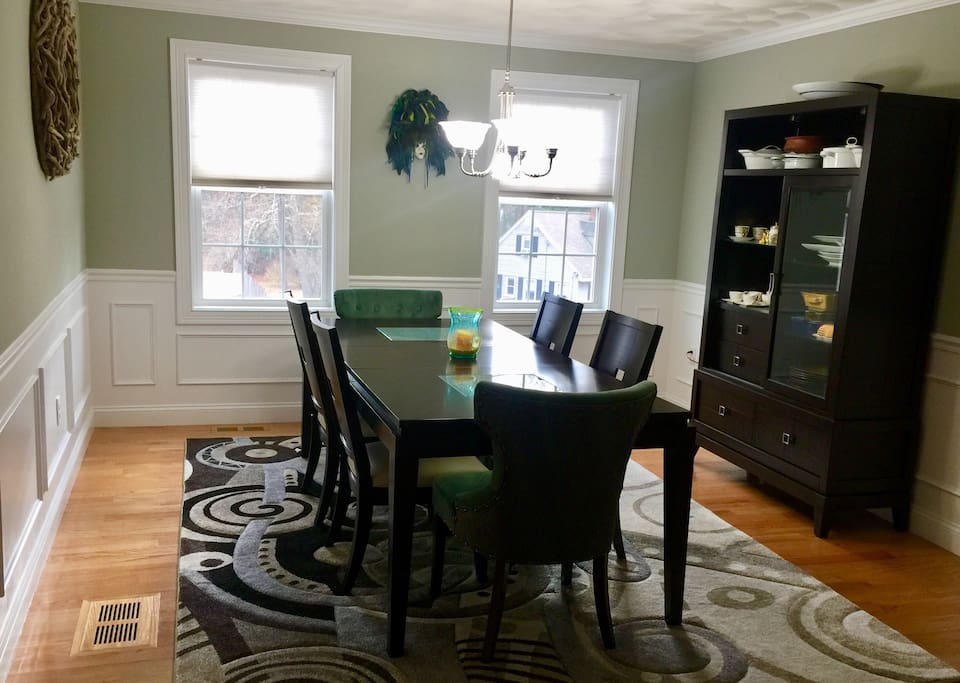 Dining Room to enjoy home cooked meals.