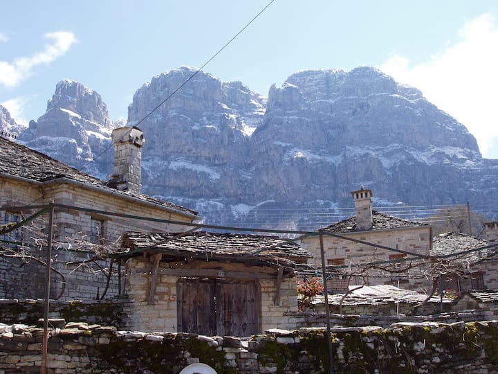 Traditional place in Papingo-Zagori.