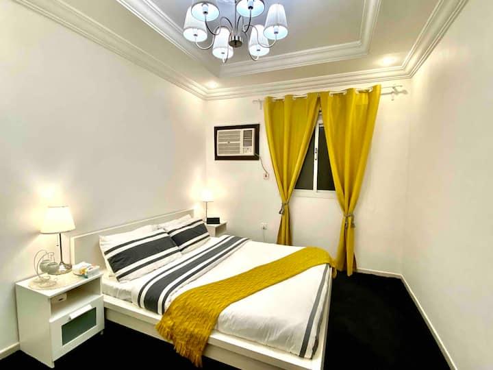 منزل الضيوف غرفتين يشعرك كانك في بيتك.